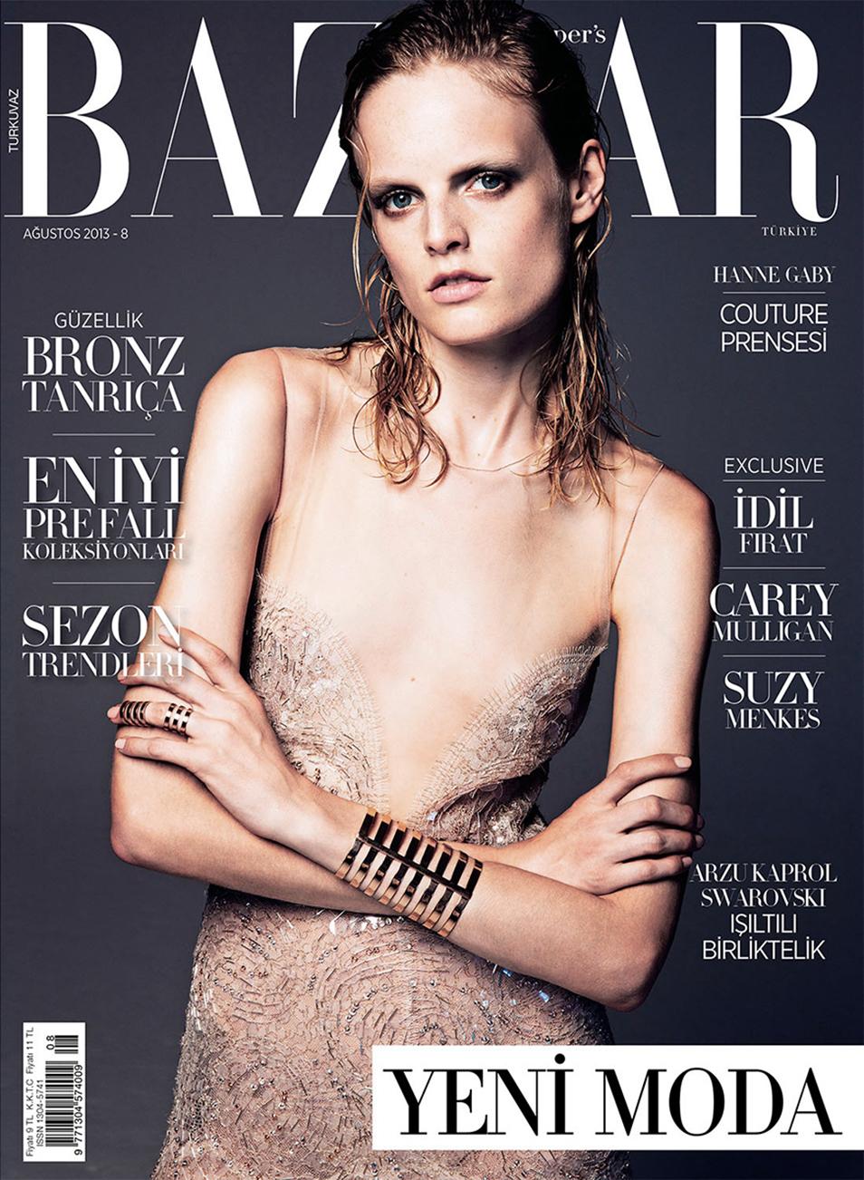 Hanna Gaby - Harpers Bazaar Turkey