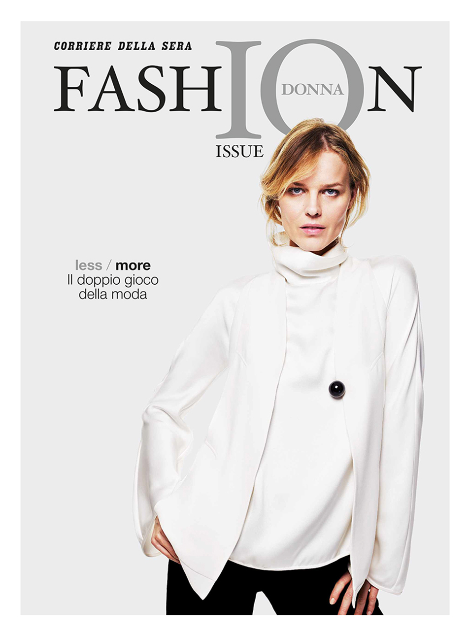 Eva Herzigova - Fashion Issue