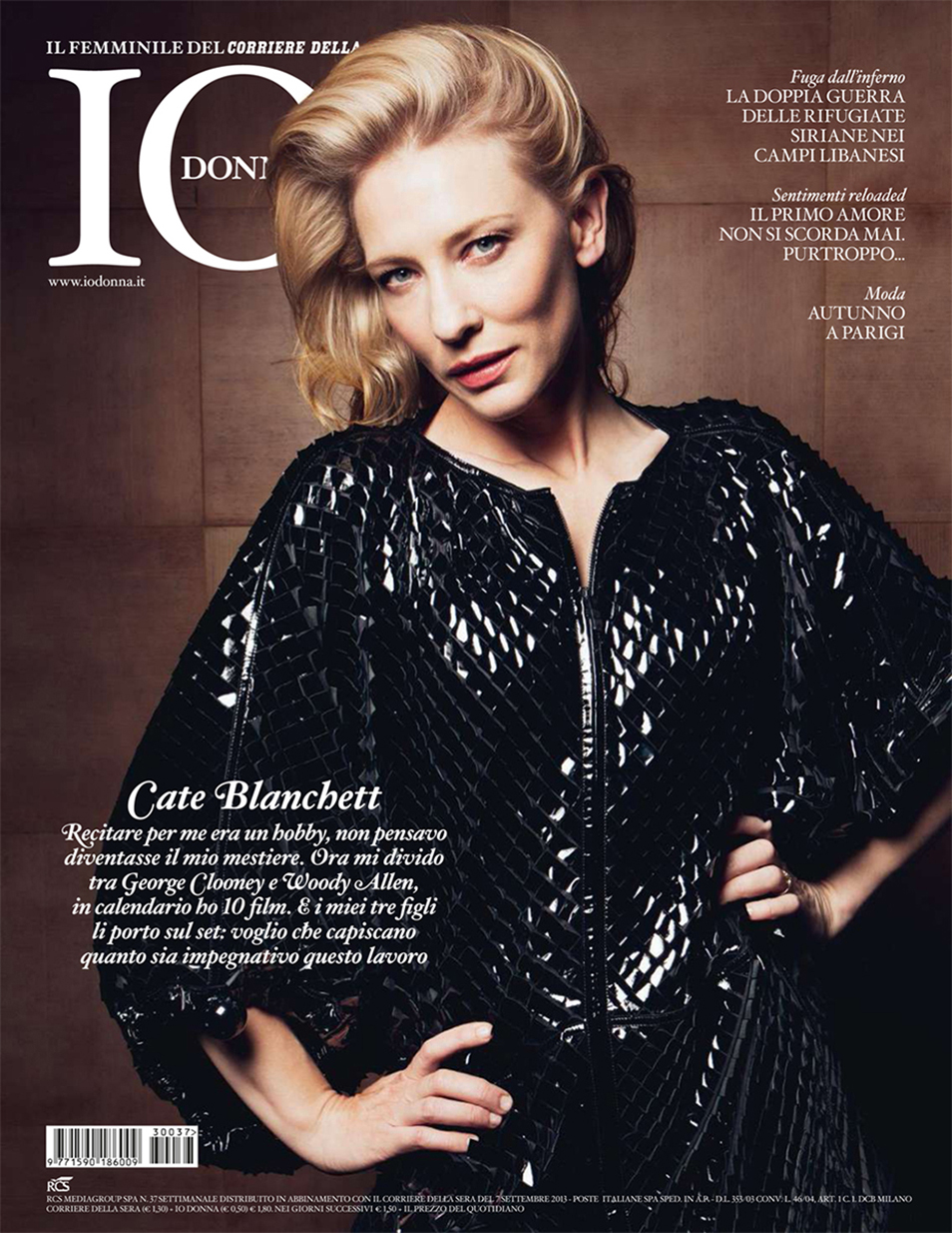 Cate Blanchett - Io Donna