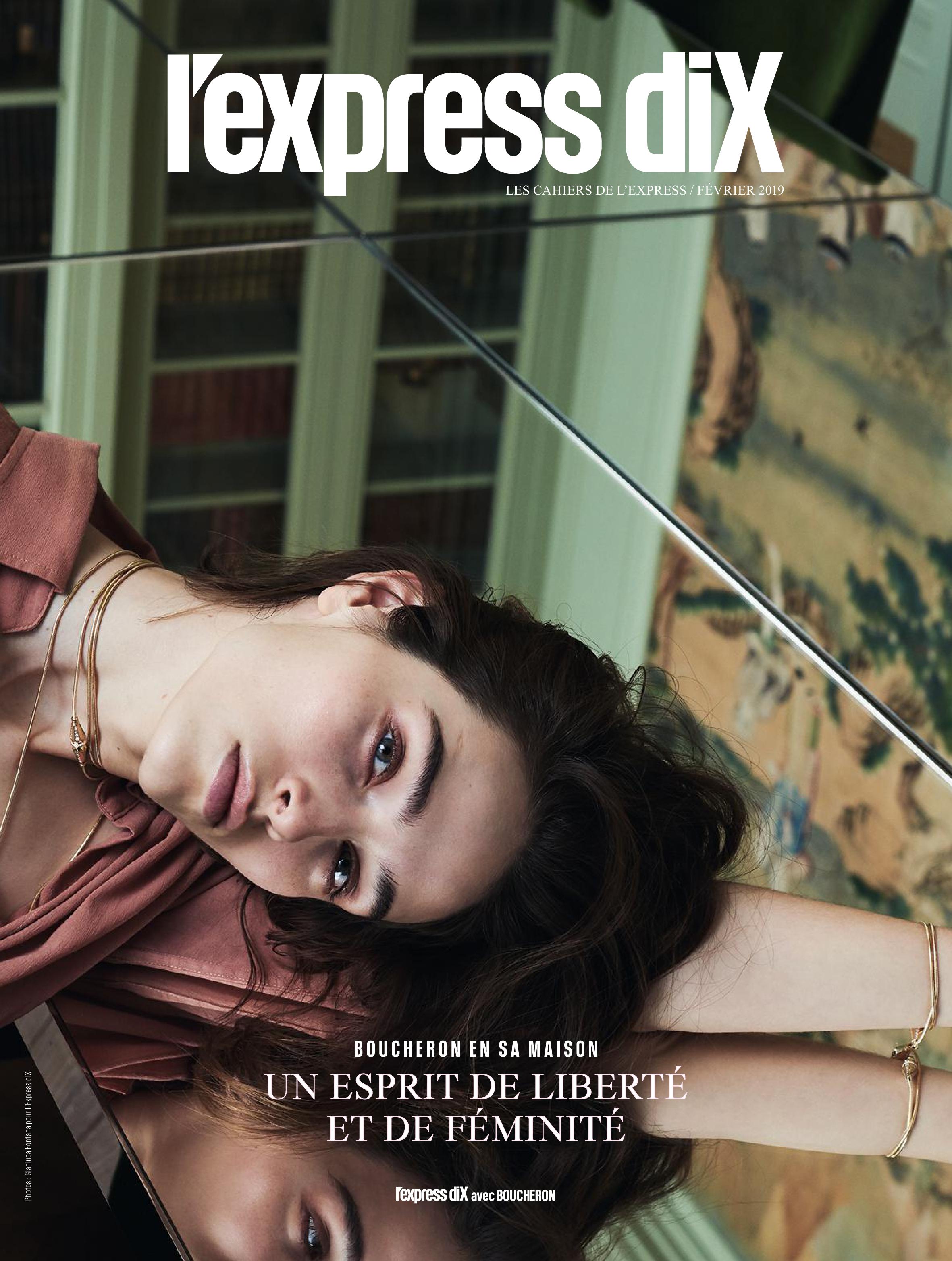 Nicole Neumann- L'Express Dix Boucheron